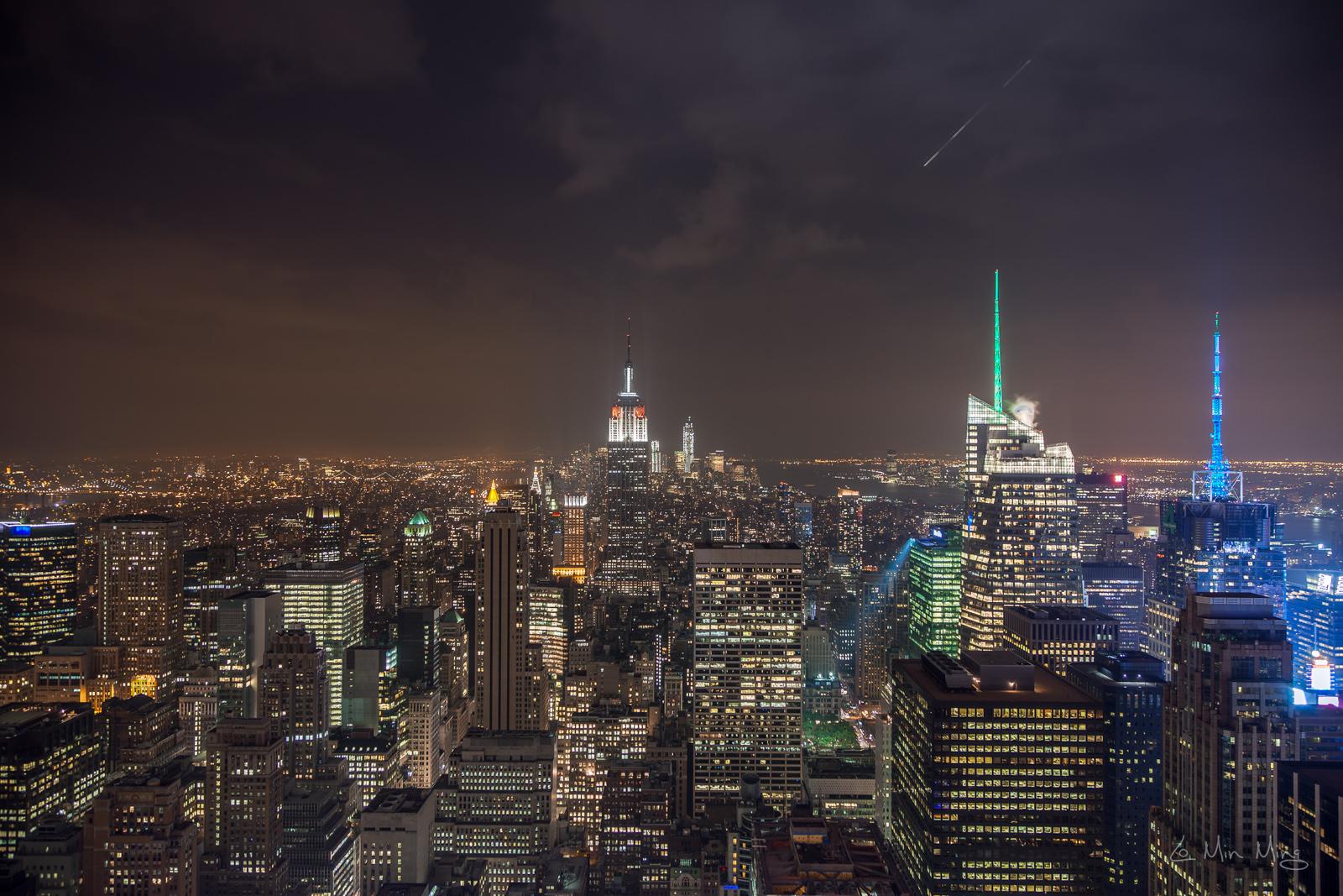 bild skyline new york finest schneien sie in new york. Black Bedroom Furniture Sets. Home Design Ideas